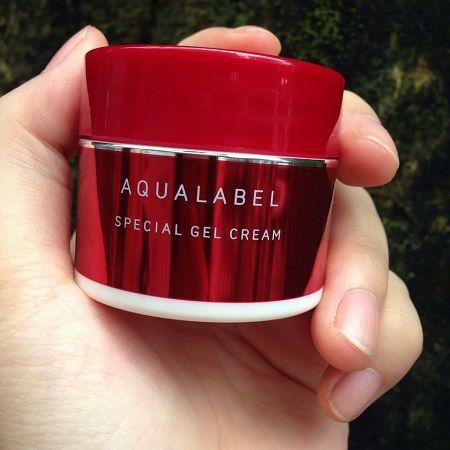 Kem dưỡng da Shiseido Aqualabel đỏ 5 trong 1 Nhật Bản
