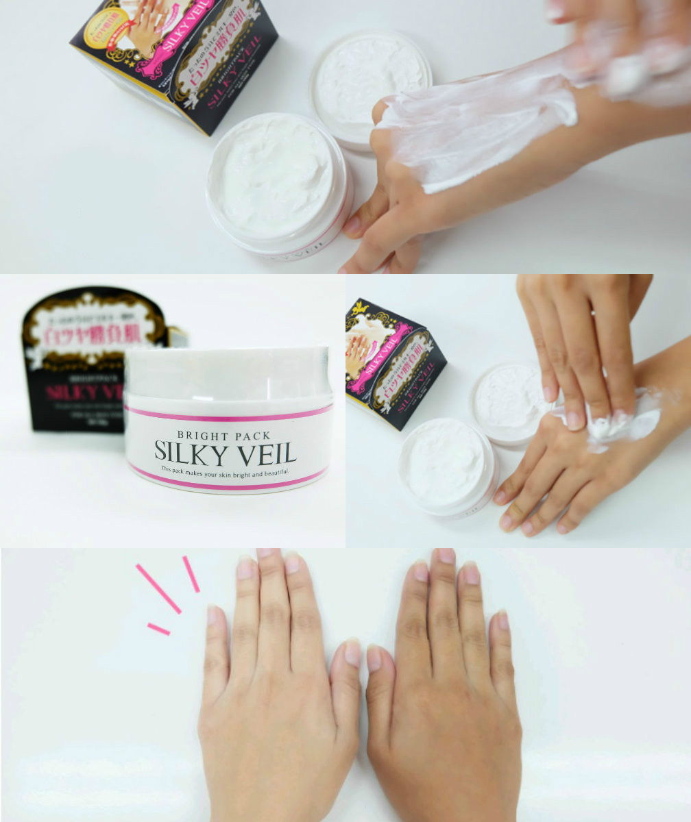 Kem trắng da silky veil Nhật bản
