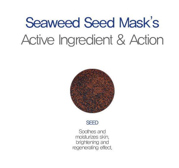 Mặt nạ tảo biển SEAWEED SEED MASK