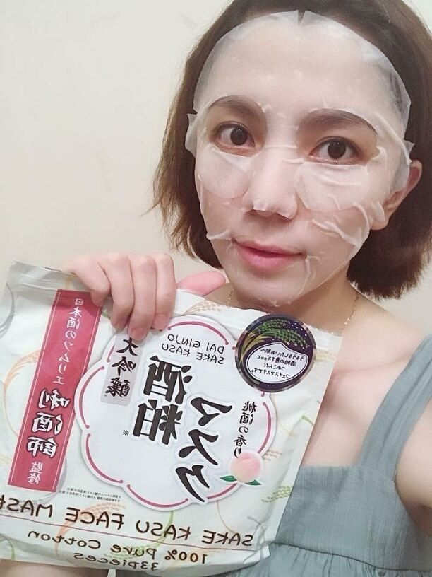 Công dụng Mặt Nạ Từ Bã Rượu Sake Nhật Bản: