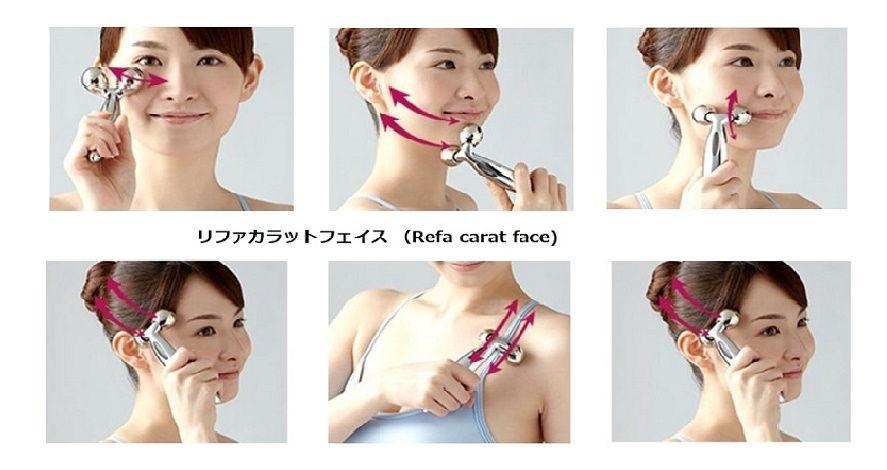 3 Model thông dụng nhất : Refa Carat – Refa Carat Face – Refa S Carat.