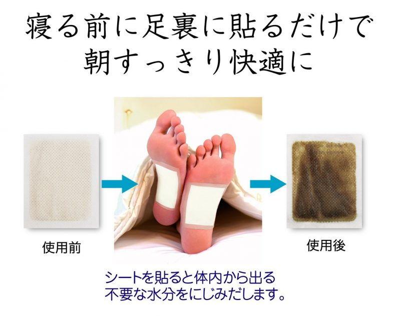 Review miếng dán chân thải độc tố KENKO