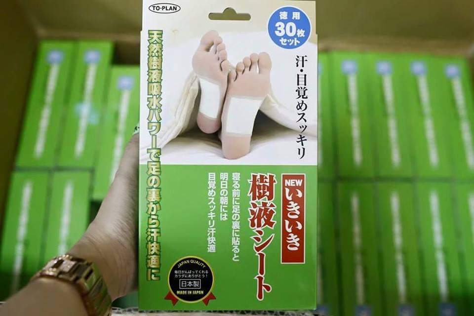 Miếng dán chân thải độc tố KENKO