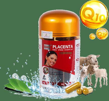 Sheep Placenta Costar 35000 mg Có nhiều thành phần tốt cho cơ thể