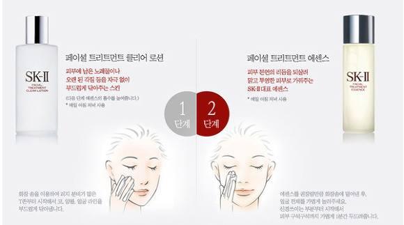 Hướng dẫn sử dụng nước thần SK II Facial Treatment Essence: