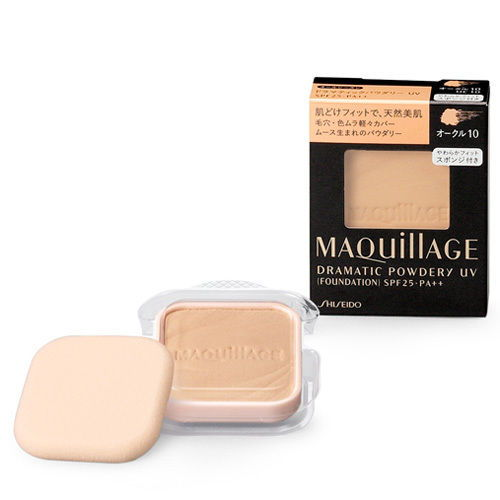 Phấn nén Shiseido Maquillage Dramatic Powdery UV