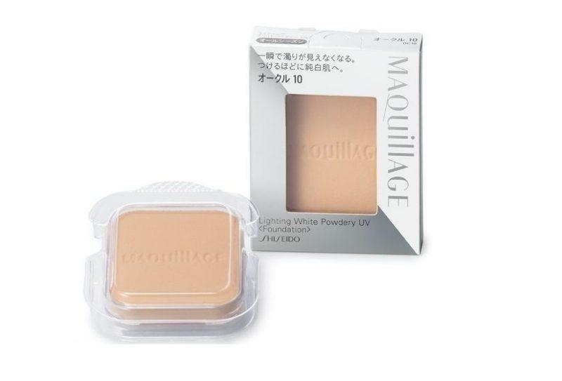 Phấn nền Shiseido Maquillage Lighting White Powdery UV