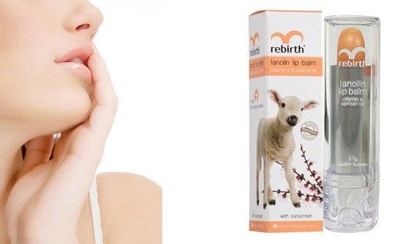 Một số thông tin cơ bản về son dưỡng môi nhau thai cừu Rebirth Australia