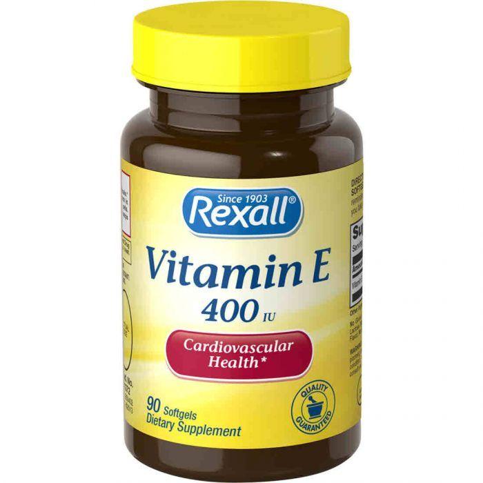 Rexall Vitamin E 400
