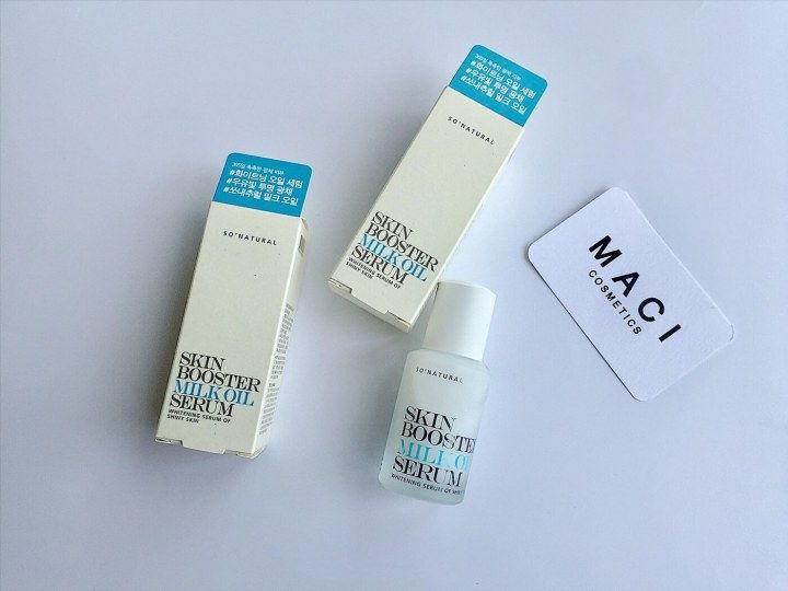 Serum trắng da Skin Booster Milk Oil Cải thiện sắc tố da, làm đều mà da cho những bạn gái có làn da xỉn màu