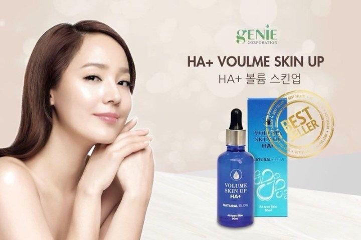 Serum Volume Skin Up HA+ Cấp ẩm từ sâu bên trong giúp da căng bóng, mịn màng