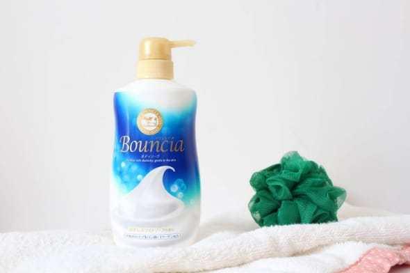 Sữa tắm con bò Bouncia Nhật