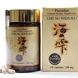 Tảo ngăn ngừa bệnh ung thư Fucoidan Umi No Shizuku