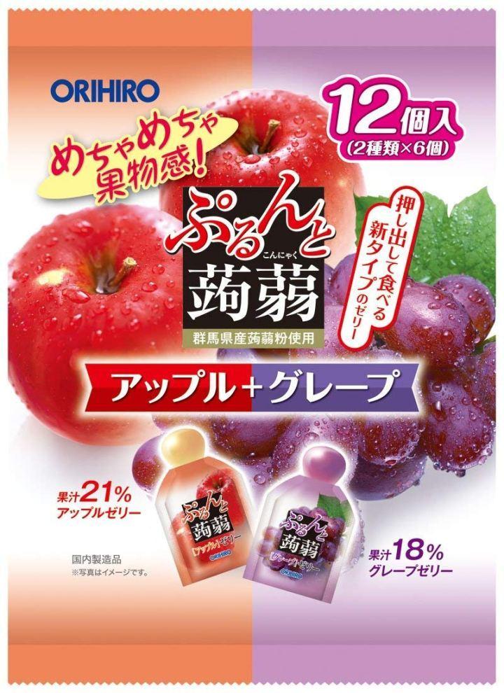 Thạch hoa quả Orihiro
