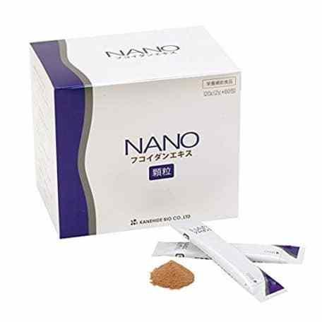 thành phần tinh chất Fucoidan rất cao cứ 2 gramđó chính là những đặc điểm trong dòng sản phẩm Nano Fucoidan Kanehide