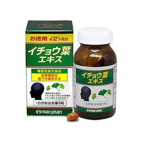 Thuốc bổ não Maruman DHA Ginkgo