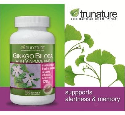 Thuốc bổ não Trunature Ginkgo