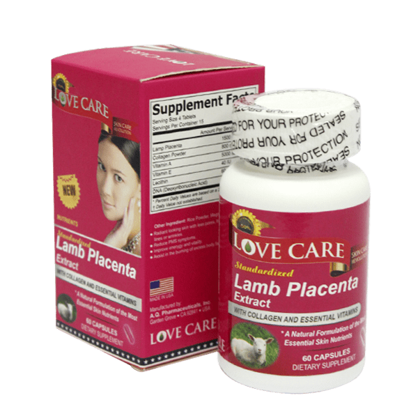 Thuốc Collagen nhau thai cừu Lamb Placenta