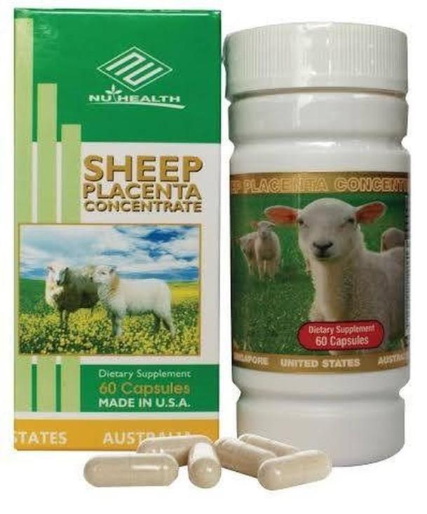 Thuốc Collagen nhau thai cừu Sheep Placenta Concentrate