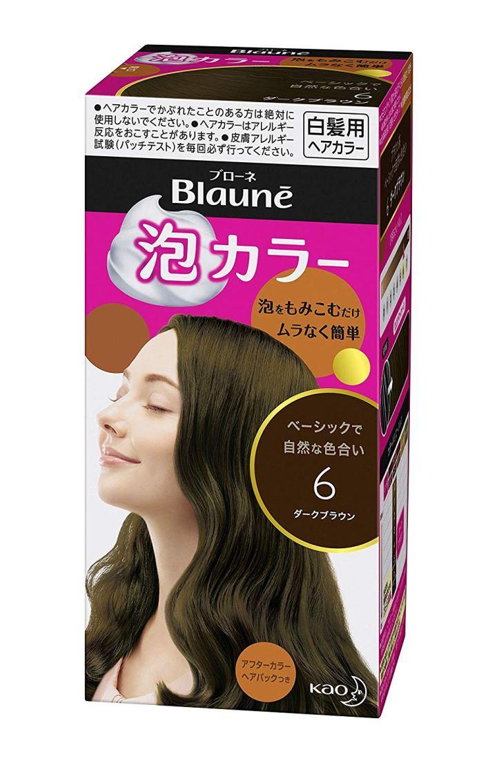 Thuốc nhuộm tóc phủ bạc dạng bọt Blaune
