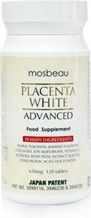 THUỐC UỐNG TRẮNG DA MOSBEAU PLACENTA WHITE ADVANCED