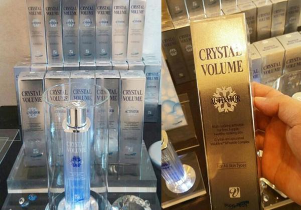 Tinh chất dưỡng trắng da chống lão hóa Crystal Volume Giúp da đẩy lùi và ngăn ngừa quá trình lão hóa như: nám da, làm lần sẹo rỗ