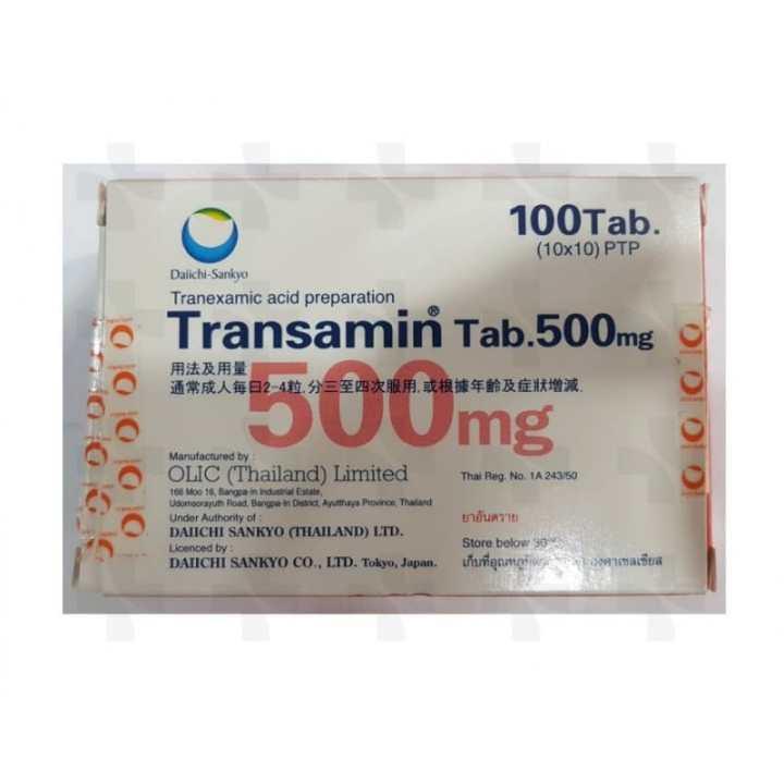 Transamin Tablet 500mg