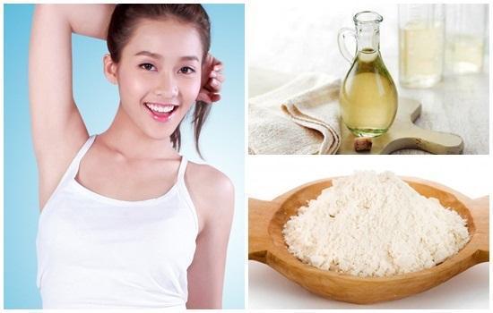 Trị thâm nách nhanh chóng và hiệu quả bằng dấm gạo