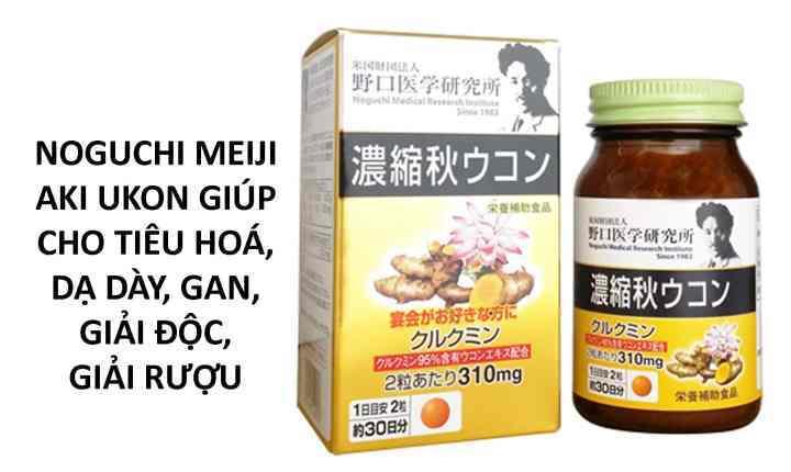 Viên nghệ mùaxuân60 viên Noguchi sản phẩm từ nhật bản đang được đánh giá review rất tốt từ khách hàng, trong đó đã xuất hiện tại việt nam , một dòng thực phẩm chức năng mà con người không thể bỏ qua