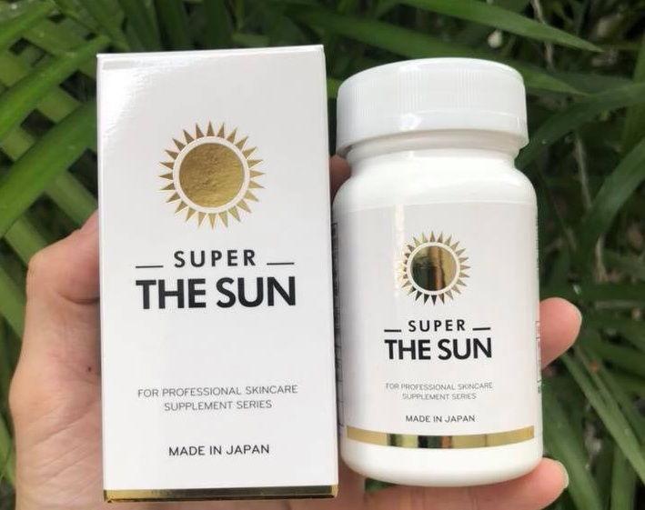 Viên uống chống nắng super the sun 30 ngày 30 viên