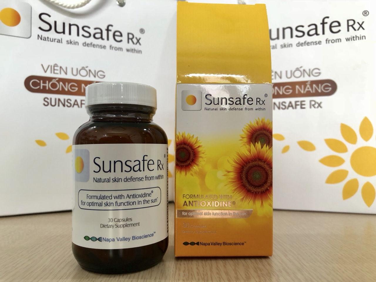 Viên uống chống nắng Sunsafe