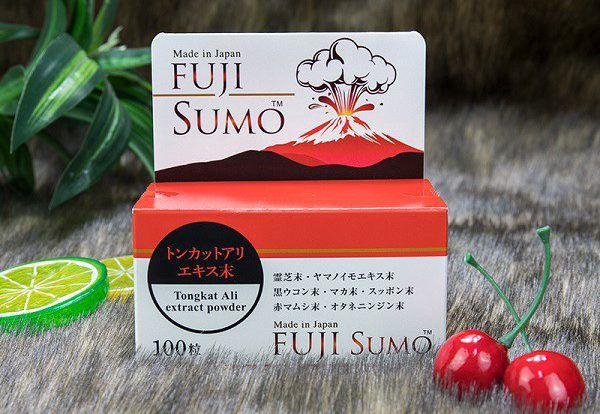 viên uống Fuji Sumo Làm chậm lại quá trình lão hóa, khắc phục các dấu hiệu mãn dục ở nam giớ