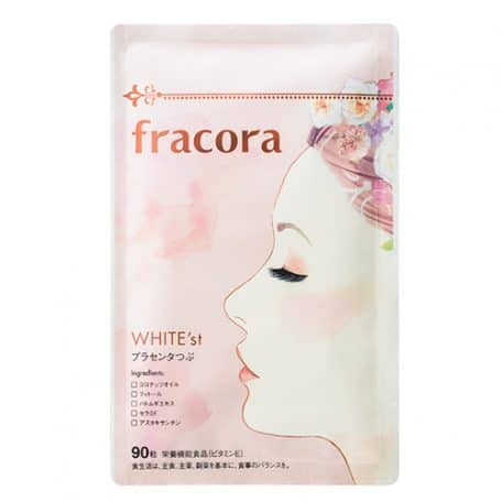 Viên uống nhau thai Fracora có dạng viên nang nhỏ gọn, dễ dàng được hấp thụ khi vào cơ thể
