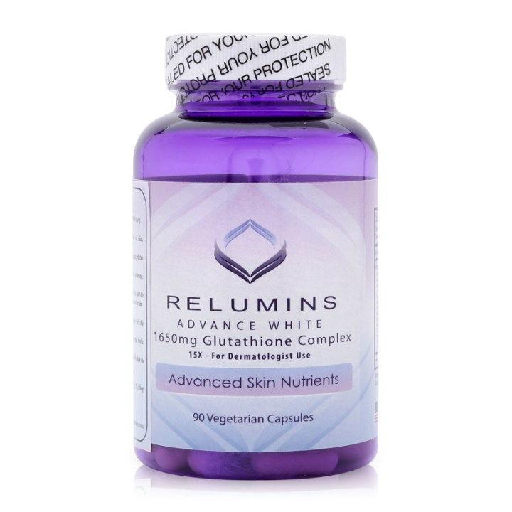 Viên uống trắng da relumins 1650mg Có nhiều thành phần tốt cho da