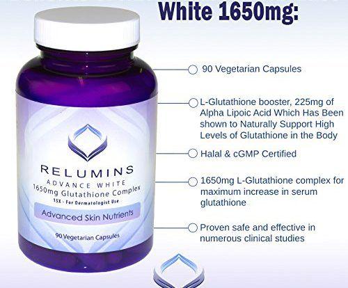 Viên uống trắng da relumins 1650mg Đem đến khả năng tái sinh và phục hồi quá trình lão hóa da ở chị em phụ nữ