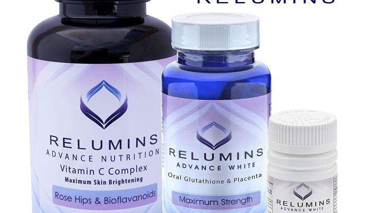 Viên uống trắng da và collagen của Relumins làm trắng của viên uống trắng da này mang tính bền vững