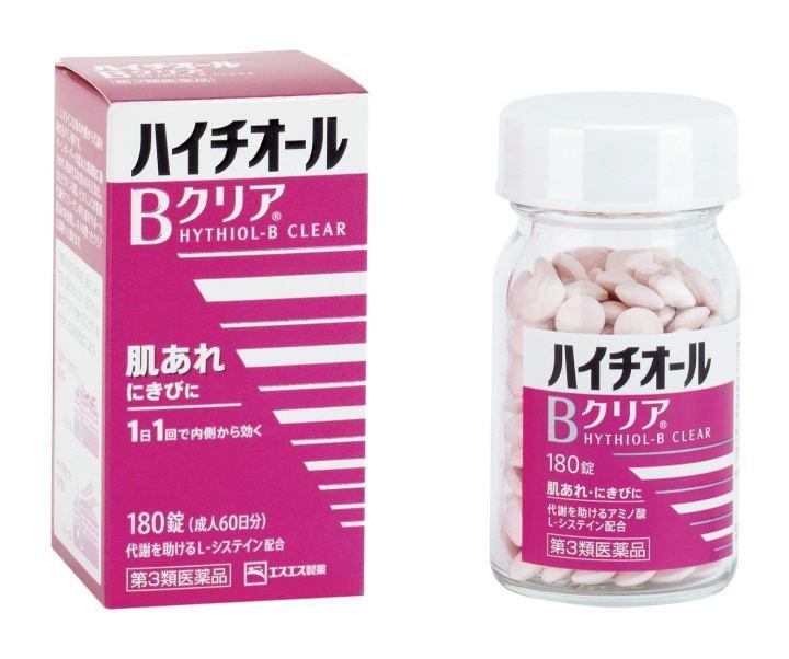 Viên uống trị mụn Hythiol- B