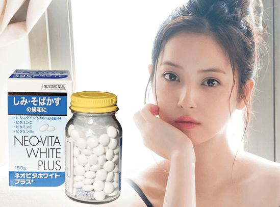 Vita White Plus Japan của Nhật