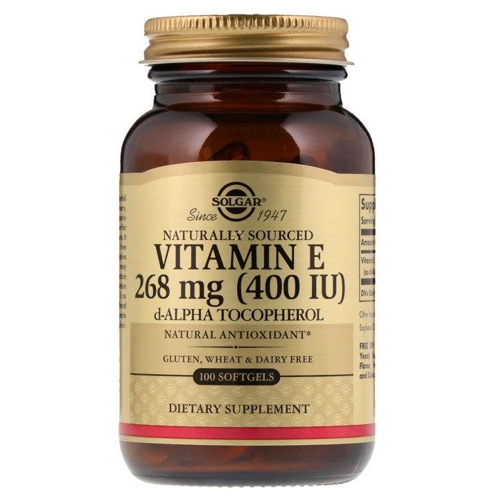 Vitamin E 100 IU (100 Softgels)
