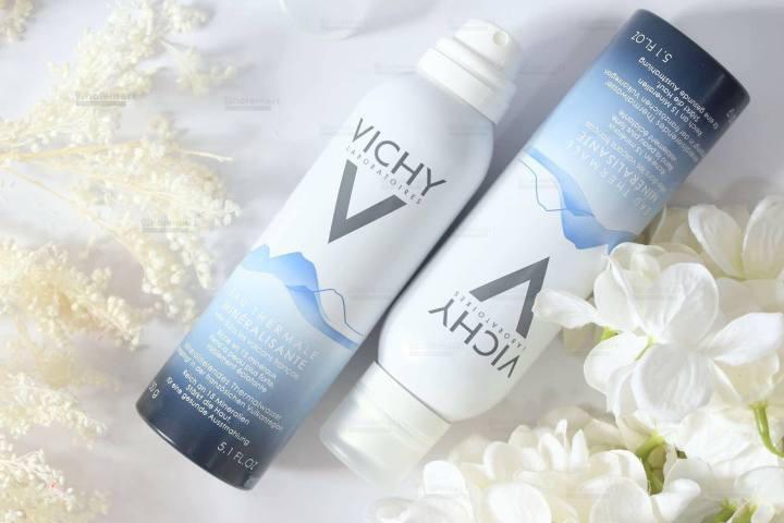 Xịt khoáng Vichy Giúp da luôn mềm mại, dịu dàng, tạo cảm giác tươi mát cả ngày