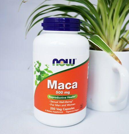 Now Foods Maca – Thuốc tăng cường sinh lực cho cả nam lẫn nữ