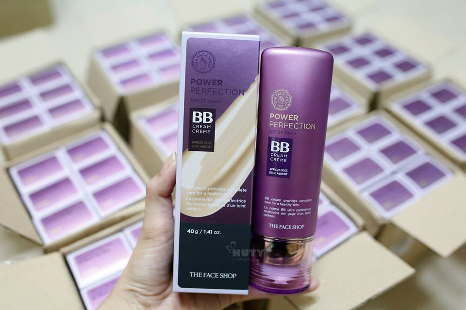 Kem nền đa năng Power perfection BB Cream SPF37 PA++ (The Face Shop)