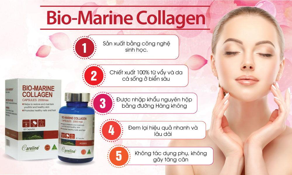 Những công dụng tuyệt vời của Marine Collagen