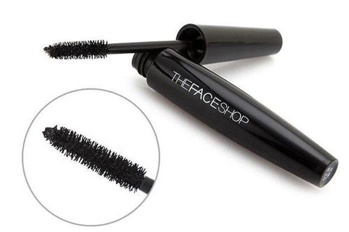 Mascara làm dày và cong mi the face shop Freshian big Volume