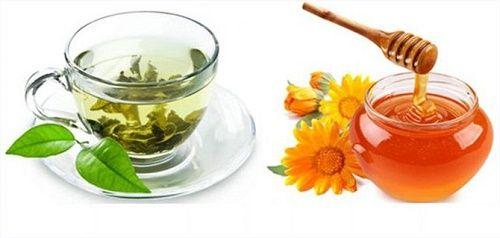 Các công thức giảm cân Mật ong và trà xanh