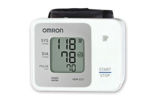Máy đo huyết áp cổ tay omron