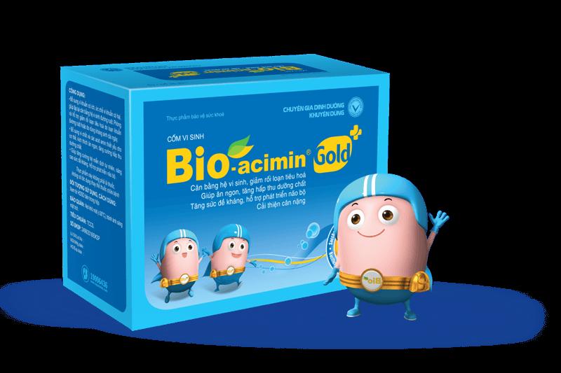 Cốm men vi sinh Bio-acimin Gold +