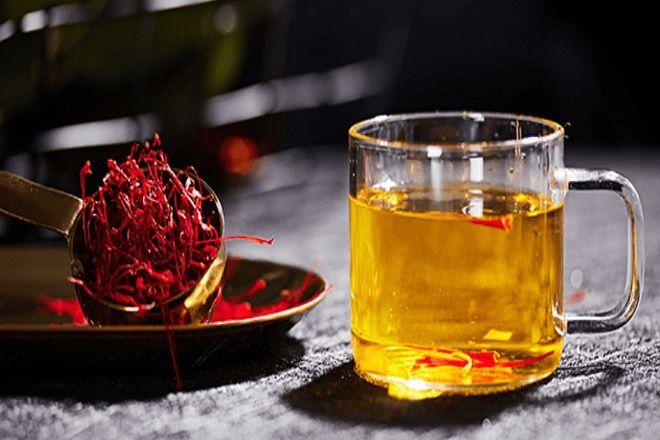 Mặt nạ Saffron Dùng để uống