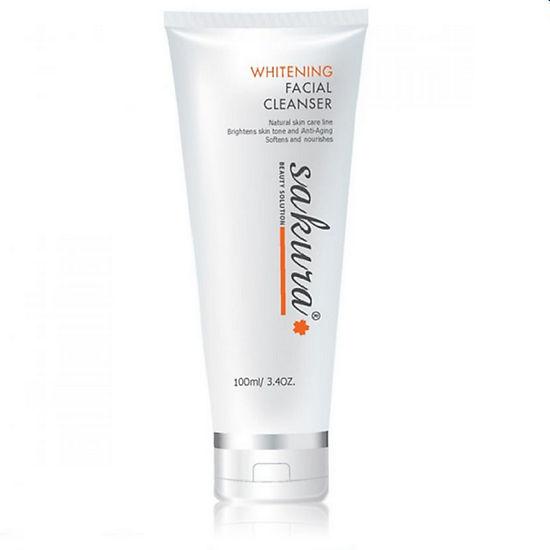 Sửa rửa mặt Sakura Whitening Facial Cleanser