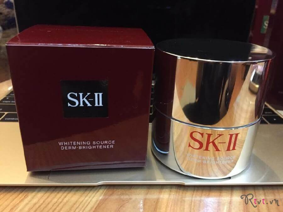Kem đêm SK-II Whitening Source Derm Brightener